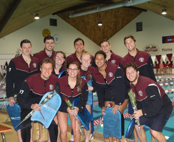 Women's Swimming Fights Off Red Devils - Swarthmore College